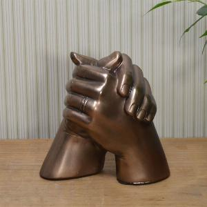 Photo of Marriage Hands Bronze Sculpture