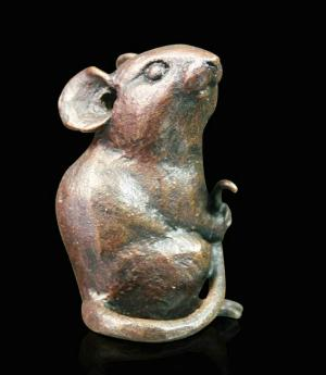 Photo of Mouse Small Bronze Figurine (Limited Edition) Michael Simpson