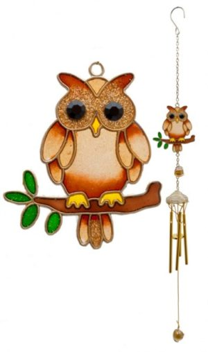 Photo of Owl Wind Chime Small