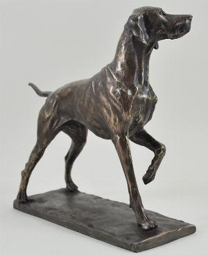 Photo of Pointer Bronze Dog Figurine (David Geenty) 24 cm