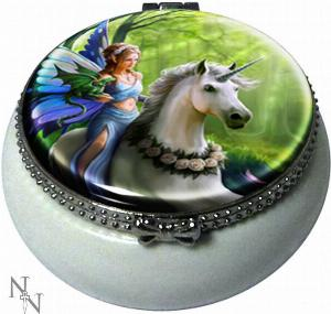 Photo of Realm Of Enchantment Small Trinket Box (Anne Stokes) 5.5cm