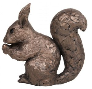 Photo of Red Squirrel Bronze Figurine (Frith)