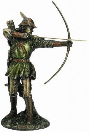 Photo of Robin Hood Bronze Figurine 30 cm
