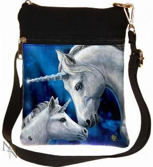 Photo of Sacred Love Unicorn Small Shoulder Bag (Lisa Parker) 23cm