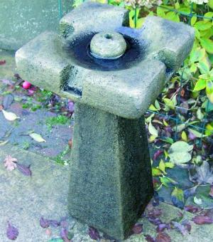 Photo of Simple Stone Fountain