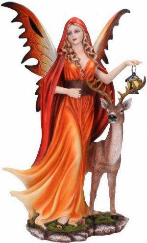 Photo of Spirit of Autumn Fairy Figurine 35cm