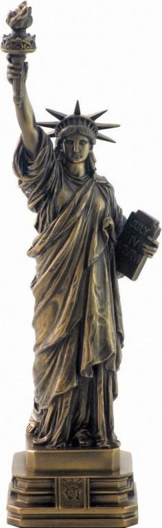 Photo of Statue of Liberty Bronze Figurine 31 cm