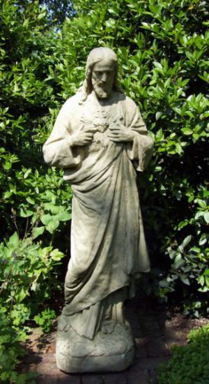 Photo of Stone Jesus Statue 152 cm Large