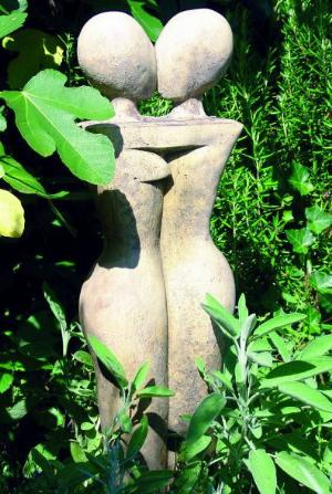 Photo of The Lovers Stone Sculpture