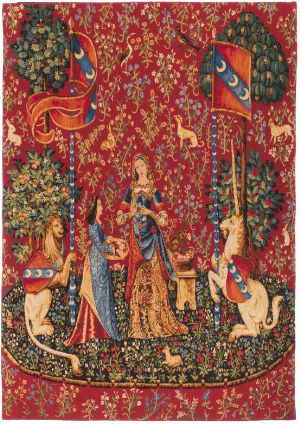 Phot of The Smell Medieval Wall Tapestry