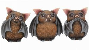 Photo of Three Wise Bats Ornaments