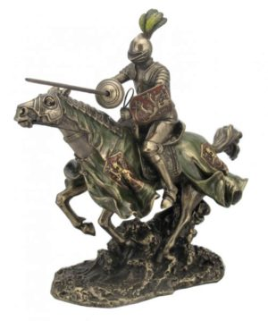 Photo of Tournament Knight Charging Figurine