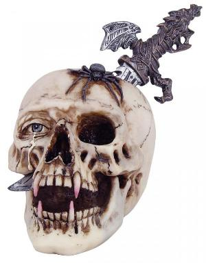 Photo of Vampire Skull with Removable Dagger 24 cm