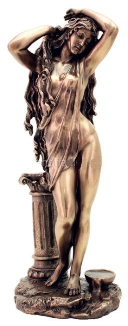 Photo of Aphrodite Goddess Bronze Figurine 29 cm