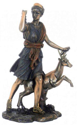 Photo of Artemis Bronze Figurine 29 cm