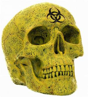 Photo of Biohazard Skull Ornament 18 cm