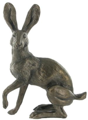 Photo of Buttercup Hare Bronze Sculpture (Harriet Glen) 18 cm