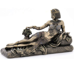 Photo of Cleopatra Bronze Figurine