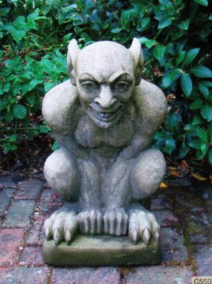 Photo of Demon Stone Sculpture