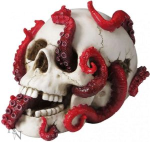 Photo of Devoured Skull Ornament 24cm