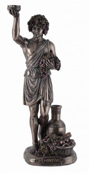 Photo of Dionysus Greek God of Wine Bronze Figurine