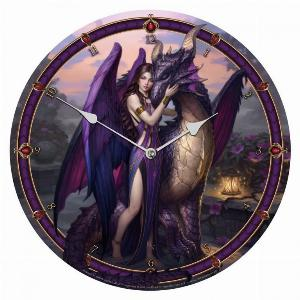 Photo of Dragon Sanctuary Wall Clock (James Ryman) 34 cm