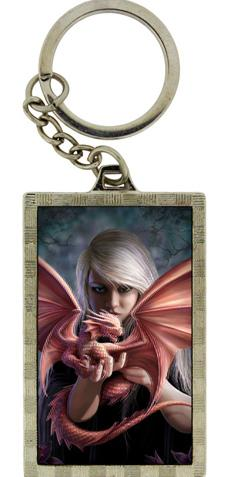 Photo of Dragonkin 3D Keyring (Anne Stokes)