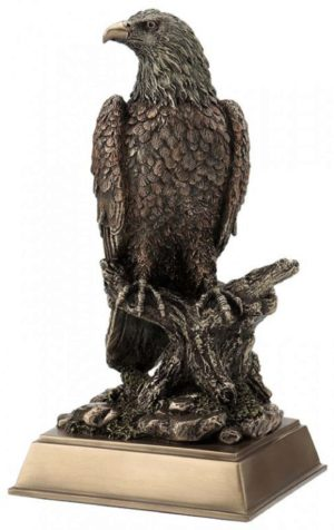 Photo of Eagle Bronze Figurine 25 cm