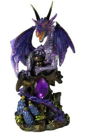 Photo of Galeru Purple Crystal Dragon Figurine (Alator)
