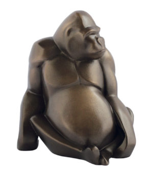 Photo of Gorilla Bronze Figurine (Arora Gallery Design Collection)
