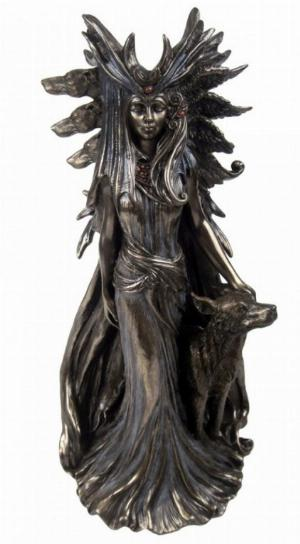 Photo of Hekate Bronze Figurine by Marc Potts 25 cm
