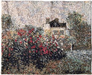 Phot of House Of Monet Wall Tapestry