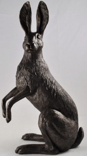 Photo of Ivy Hare Bronze Sculpture (Harriet Glen) 30 cm