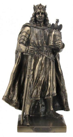 Photo of King Arthur Bronze Figurine
