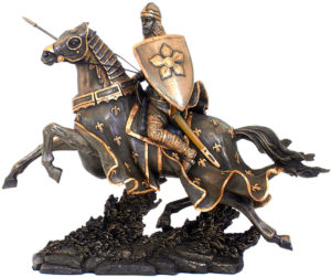 Photo of Knight Legend Bronze Figurine