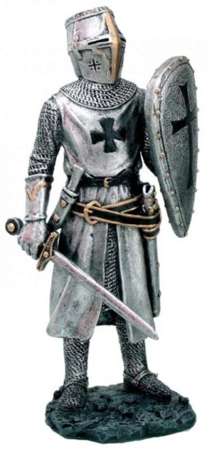 Photo of Knight with Sword and Shield Figurine