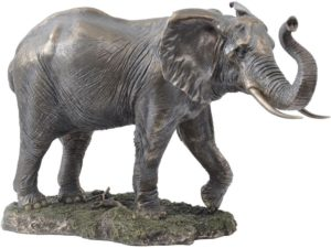 Photo of Large Bronze Elephant Standing