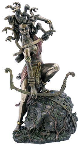 Photo of Medusa Bronze Figurine 27 cm