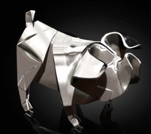 Photo of Pig Hallmarked Sterling Silver Miniature NOMI Design