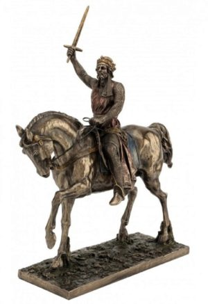 Photo of Richard I Bronze Figurine 35cm