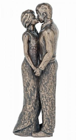 Photo of Romance Couple Bronze Figurine