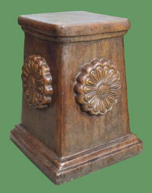 Phot of Rose Stone Plinth