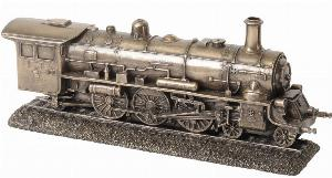 Photo of Steam Train Bronze Ornament 26cm