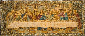 Phot of The Last Supper By Leonardo Da Vinci Wall Tapestry Ii