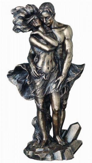 Photo of The Passion of Love Bronze Figurine 30cm