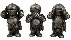 Photo of Three Wise Knights Figurine