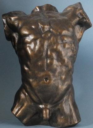 Photo of Torso Bronze Figurine (Rodin)