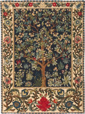 William Morris Tree Of Life Wall Tapestry Iii The