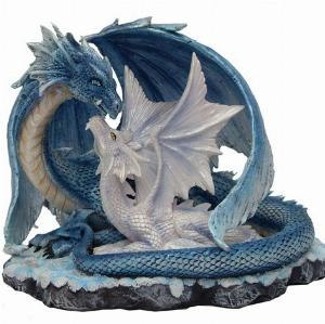 Photo of Wisdom Dragon with Youngling Figurine