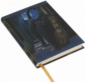 Photo of A Brush With Magick Embossed Cat Journal 17cm